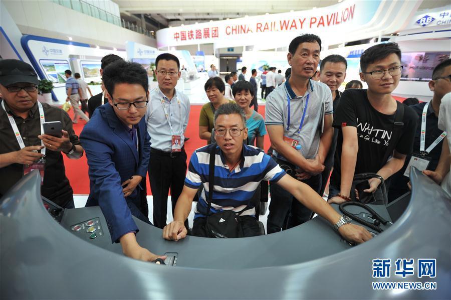 (社會)(3)中國高鐵技術成就展舉行