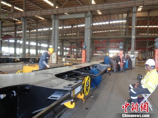 中車齊車公司:60英尺集裝箱平車首次大批量生產出口新西蘭