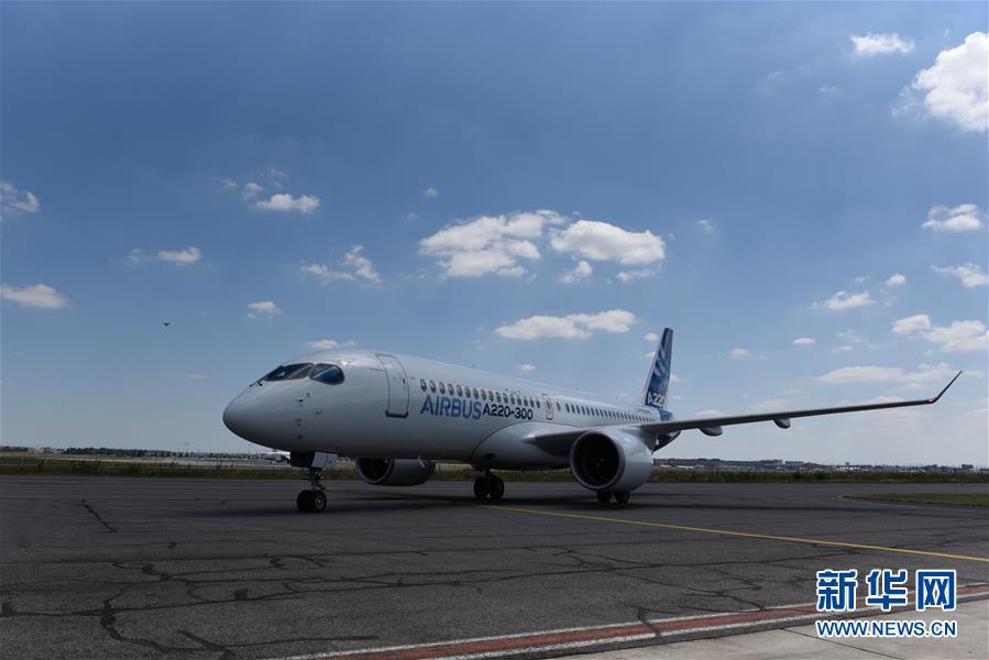 (國際)(1)空客推出A220系列飛機