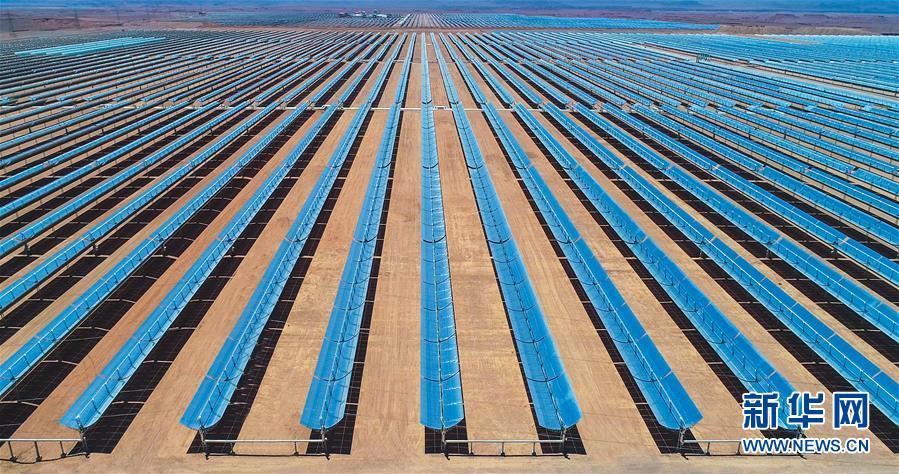 中国建设者助力摩洛哥能源结构调整