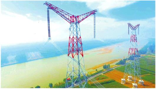 """""""外电入鲁""""570亿千瓦时 加速山东能源结构绿色转型"""